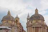 View of piazza del Popolo in Rome — Stock Photo
