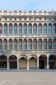 The square into The Doge's Palace — Foto de Stock