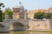 View of panorama Vatican City — Stock Photo