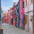 Island Burano — Stock Photo