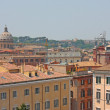 Stock Photo: View above downtown of Rome