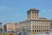 A view of Piazza Venezia — Stock Photo