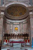 Pantheon in rome, italië — Stockfoto