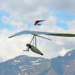 Hanggliding in swiss Alps — Stock Photo #6115107