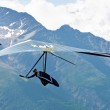 Hanggliding in swiss Alps — Stock Photo #6115117