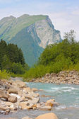 River in the Alps — Stock Photo