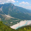 Beautiful landscape of Alps — Stock Photo