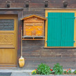 Fine wooden house — Stock Photo