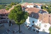 Small town Motovun — Stock Photo