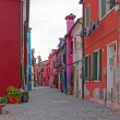 Color houses in Venice — Stock Photo #6204187