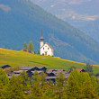 Beautiful church in alpine landscape — Stock Photo #6211143