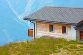 Houses in the mountains — Stockfoto