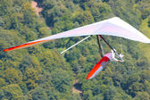 Hang gliding in Slovenia — Foto Stock