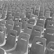 Multiple chairs in rows - Stock Photo