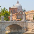 Stock Photo: View of panorama Vatican City