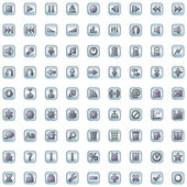 Internet en website icons set — Stockvector