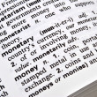 Royalty-Free Stock Photo: Meaning of Money