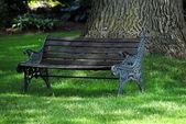 Park Bench — Stock Photo