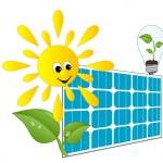 Solar panel — Stock Vector #5410792