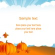 Halloween background — Stock Vector #6378422