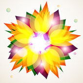 Floral abstract background. eps10 — Stock Vector