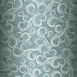 Seamless curl floral background, Illustration in eps10 format. - Stock Vector
