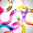 Curls abstract background in eps10 format. — Imagen vectorial