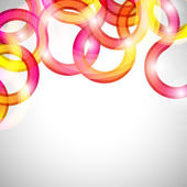 Curls abstract background in eps10 format. — Stock Vector
