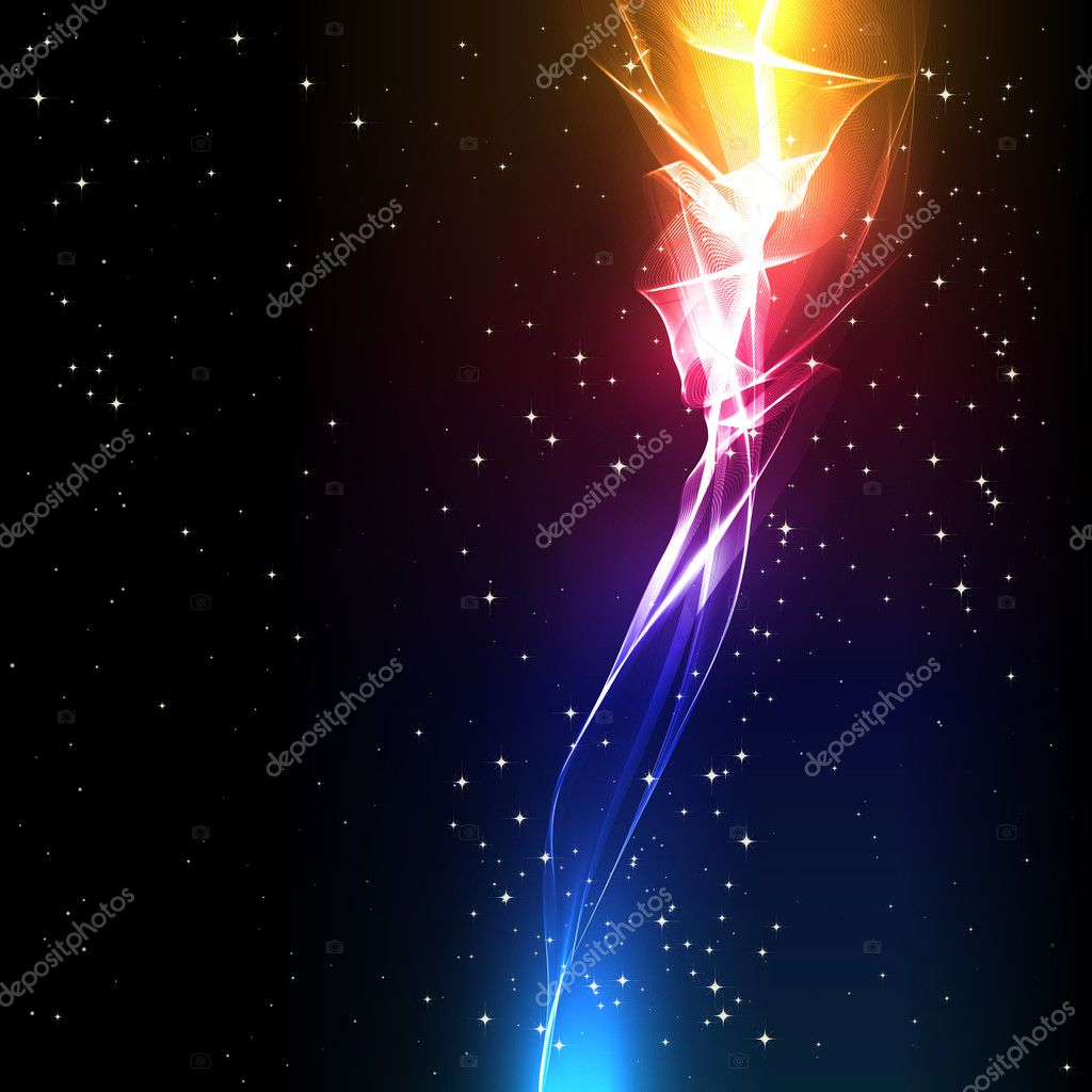 Vector abstract background with a light flower. — Stock Vector #5471733