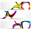 Abstract banner with forms of empty frames for your web design. — Stock Vector #5632997