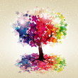 Abstract colorful background. - Stockvektor