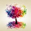 Abstract colorful background. - Stockvectorbeeld