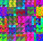 多彩马赛克抽象背景 — 图库矢量图片