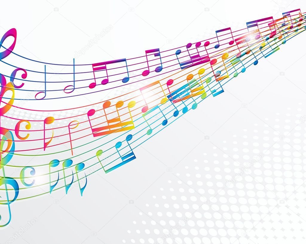 Music abstract background.  Stock Vector #6076468