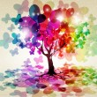 Royalty-Free Stock Imagen vectorial: Abstract colorful background.