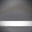 Round cell metal background. - Stock Vector