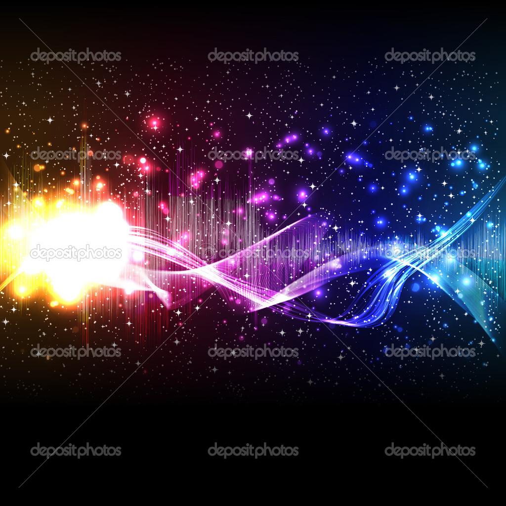 Vector music equalizer wave — Stock Vector #6281491