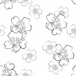 Floral seamless — Vector de stock