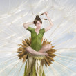 The flower fairy — Stock Photo