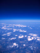 Earth aerial view. — Stock Photo