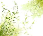 Floral design vector — Stock Vector