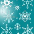 Royalty-Free Stock Vektorgrafik: Snowflakes - vector