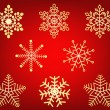 Royalty-Free Stock Vectorafbeeldingen: Snowflakes - vector