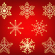 Royalty-Free Stock Vektorov obrzek: Snowflakes - vector
