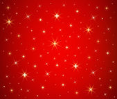 Abstract Christmas stars background vector — Stock Vector