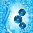 Christmas background vector — Stockvectorbeeld