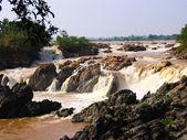 Mekhong rapids at Don Det Laos — Stock Photo
