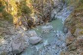Roffla canyon Switzerland — Stock Photo
