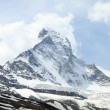 Snow covered Matterhorn — Stock Photo