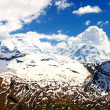 High alpine landscape — Stock Photo